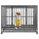 "New BestPet Hammigrid 48"" Heavy Duty Dog Pet Cat Bird Crate Cage Kennel"