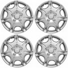 "4pc Set fits Silver ABS 15"" Wheel Cover Hub Caps fits 2000 2001 NISSAN MAXIMA"