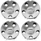 4 Pc Set Ford Mustang 5 Hole Center Caps Steel Wheels Rims Pop In Hub Cover