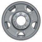 """1 F250 F350 4X4 17"""" Chrome Wheel Skin Rim Hub Cap Cover 8Lug 5Spoke Steel Wheels"""