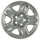 "TOYOTA RAV-4 Wheel Skin 1 Piece 16"" Inch 5 Spoke Fit Hub Caps Chrome Rims Covers"