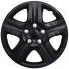 "1pc Chevy Impala Ice Gloss Black Hub Cap 5 Spoke Lug Skin 16"" Steel Wheel Covers"