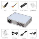3000 Lumens 3D Full HD 1080p DLP Android 4.4 Wifi Home Cinema Projector Speaker
