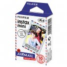 Fuji Instax Mini Films Airmail Instant Film, 2 packs of 10 Photos/pack