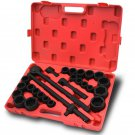 "27pc Impact Socket 3/4"" inch Drive Mechanics Metric & Standard Set 6 Points Tool"