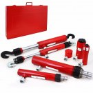 7PC Ram Hydraulic Auto Repair Collision Body Vehicle Frame Tool Kit w/ Case Set