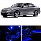 14x Full Blue LED Interior Lights Package Kit For 2009-2015 Hyundai Genesis Sedan