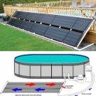 "48"" x 20' Inground Above Ground Pool Solar Panel Pool Heater 80 Sq Ft 4' x 20'"