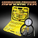 All in 1 Deluxe Fuel Injection Pressure Tester Gauge Kit Complete Auto Equipment
