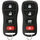 2 New Replacement Keyless Entry Remote Control Key Fob Clicker for KBRASTU15