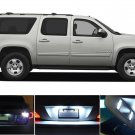 17x Interior Package Kit LED White Lights Bulb For 2007 - 2014 Chevy Suburban