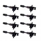 Pack of 8 New Ignition Coils on Plug For 1997 - 2001 Q45 4.1L V8 UF282