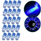 20x T10 194 Ice Blue LED Car Motorcycle Dome Instrument Dash Lights/Bulbs/Lamp