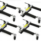 New Pro Go Under Car Jack Lift Heavy Duty Hydraulic Car Dolly Set of 4pc 1500LBS