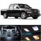 8x Xenon White Bulb LED Light Interior Package Kit For 2004-2012 Chevy Colorado