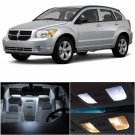 7x Xenon White LED Bulb Lights Interior Package Kit For Dodge Caliber 2007-2012