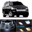 13x White LED Lamp Bulb Interior Light Package For Ford Explorer 2002-2010