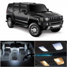 7 x Xenon White LED Interior Light Package Kit Deal For 2005 - 2010 Hummer H3