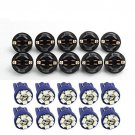10 T10 Blue PC194 LED Bulb Instrument Panel Cluster Dash Light Twist Lock Socket