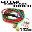 New Little Torch Soldering Kit Welding Oxygen Acetylene Gas 6300°F MultiFunction