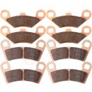 Front and Rear Sintered Brake Pads Fits 2008 Polaris Ranger 800 RZR FA456 FA159