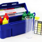 New 5 Way Swimming Pool Spa Water Chemical Test Kit CHLORINE BROMINE pH ALKALINITY