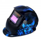 New Pro Solar Auto Darkening Ice Skull Welding Helmet Arc Tig mig certified mask