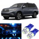 11xIce BlueLED Interior Light Bulbs Package Deal for 2008 & Up Toyota Highlander