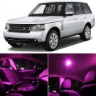 14x Pink SMD LED Lights Interior Package Kits for Land Rover Range Rover