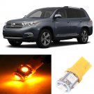11x Yellow LED Interior Light Bulbs Package Deal for 2008 & Up Toyota Highlander