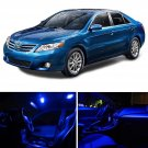 9x Blue LED Interior Dome Trunk License Light Package for 1997-2001 Toyota Camry