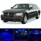 8pcs Luxury Blue LED Lights Interior Package Kit For Dodge MAGNUM 2005-2008 US