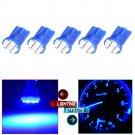 5x T10 194 8SMD Blue LED bulb Lisense Light For Ford Subaru Acura Chevrolet Jeep
