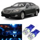 12x Ice Blue SMD LED Interior Light Bulbs Package Set For Lexus ES350 2007-2012