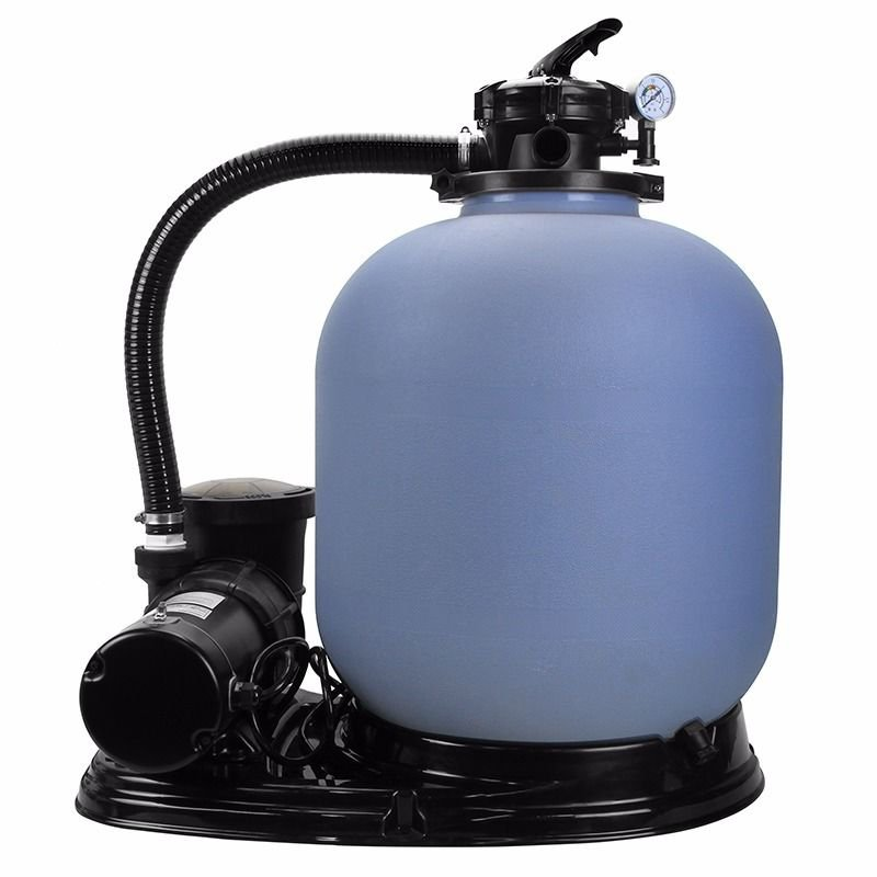 New large 20 sand filter 4500gph w 1 hp above ground swimming pool pump - Sandfilterpumpe fur pool ...