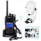 Retevis RT3 UHF 400-480MHz 5W 1000Ch VOX UHF400-480MHz DMR Radio+Earpiece MIC