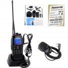 New Retevis RT2 VHF/UHF 256CH DTMF Ham Transceiver DPMR Radio Mini PTT Mic