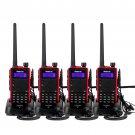 4x Retevis RT5 Walkie Talkie Dual Band VHF/UHF 8W 128CH Two Way Radio