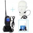 Retevis RT2 Digital DPMR Radio 256CH DTMF Ham Transceiver + Retractable Earpiece