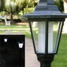 Outdoor Garden LED Light Solar Powered Path/Yard /Landscape Post Lawn Lamp Hot