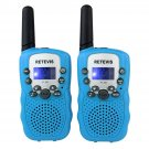 2× Retevis RT-388 Colorful Walkie Talkie for Kids 22CH UHF 0.5W 2-Way Radio US