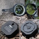 Pocket Transit Compass Army Black for Surveyors Foresters Outdoor Hiking Camping