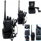 2× Retevis H777 UHF 400-470MHz 5W 16CH Ham Radio Handheld Walkie Talkie