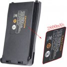 HOT 3.7V 2800mAh DC Radio Li-ion Battery Pack for RETEVIS H-777 Two Way Radio