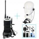 Retevis RT7 CTCSS/DCS Walkie-Talkie UHF 5W 16CH 2Way Radio+Earpiece speaker mic