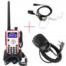 Retevis RT5 Dual Band 8W 128CH DTMF Walkie-Talkie +Speaker MIC +PTT Mic Earpiece