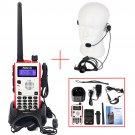 Retevis RT5 8W CTSCC/DCS 128CH DTMF Walkie-Talkie + PTT Earpiece speaker mic