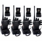 4 PCS Retevis H777 Walkie Talkie 16CH UHF400-470MHz 5W 2-Way Radio,Earpiece