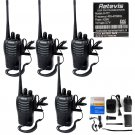 20x 2 Pin Air Acoustic Earpiece Headset for Retevis H777 Baofeng 888S Radio