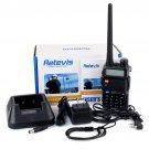 2x Retevis RT-5R Walkie Talkie VHF/UHF 5W 128CH VOX CTCSS/DCS 2-Way Radio